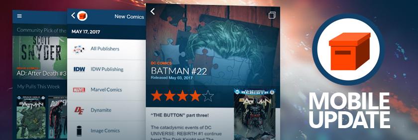 Comic Geeks Mobile Update 2.0